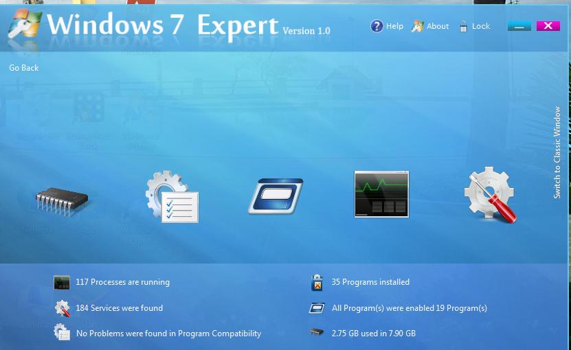 โปรแกรมเพิ่มความเร็ว windows 7