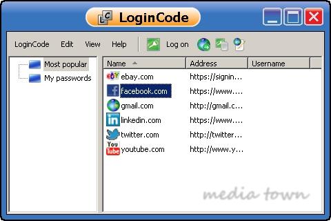 โปรแกรมช่วยจำรหัสผ่าน