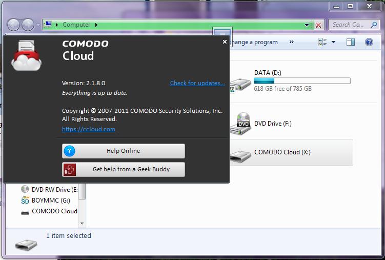 โปรแกรม backuup file cloud