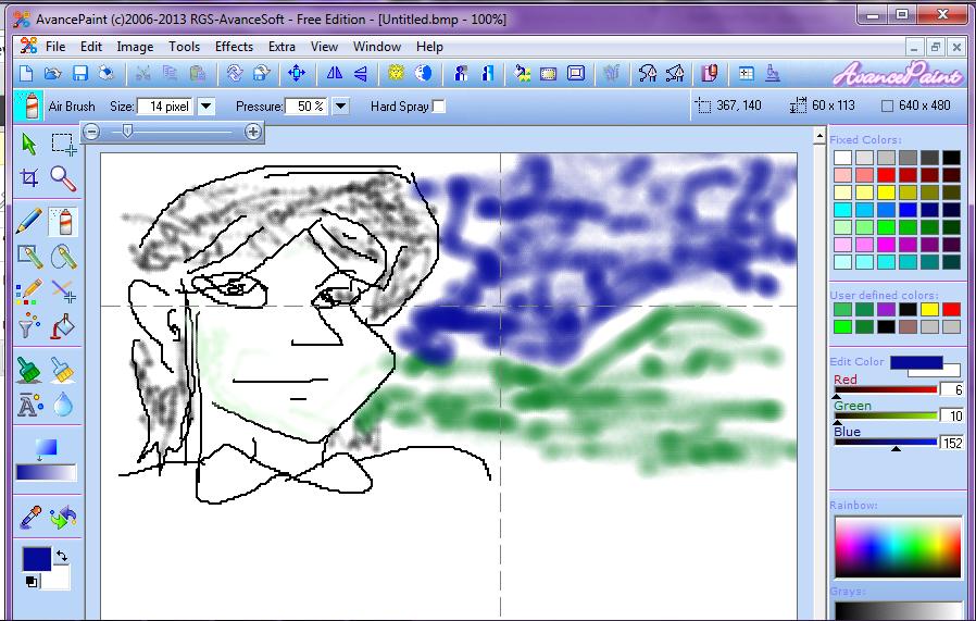 โปรแกรมวาดรูปใช้แทน paint