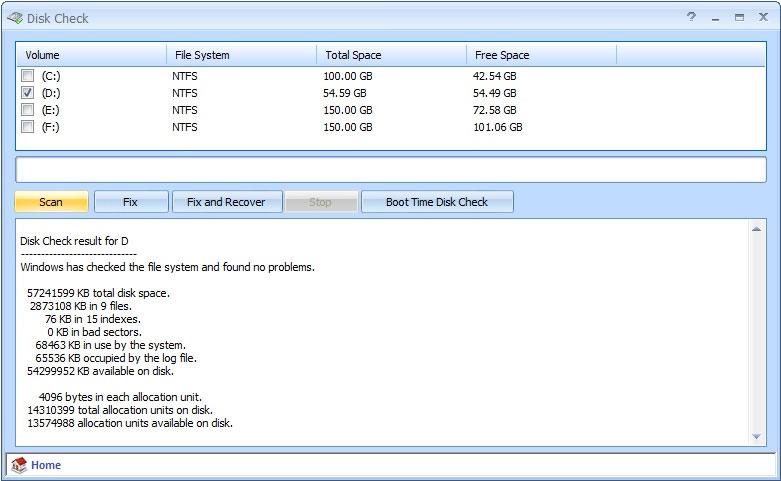 Disk Check 1.2