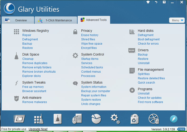 Glary Utilities 3.9.2