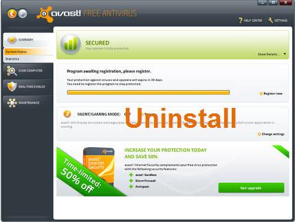 Avast! Uninstall Utility 9.0 Beta