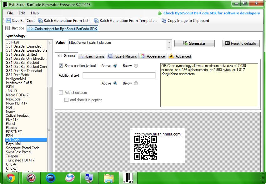 Bytescout BarCode Generator 3.2.2