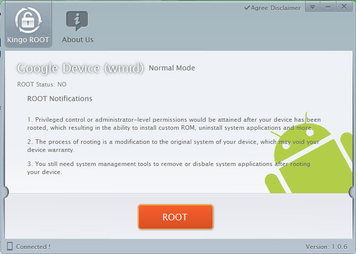 Kingo Android Root 1.0.6  -2
