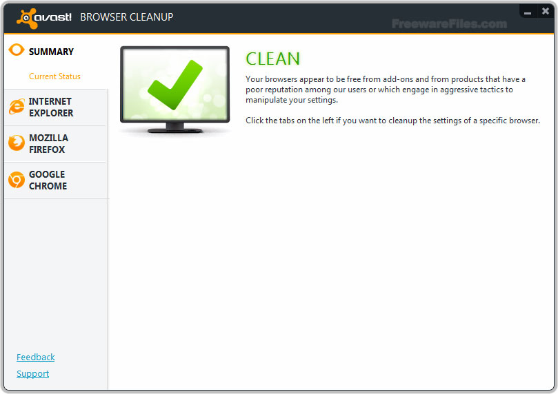 avast! Browser Cleanup 9.0