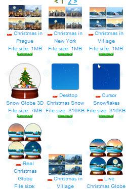 Animated Christmas Tree for Desktop - 2014