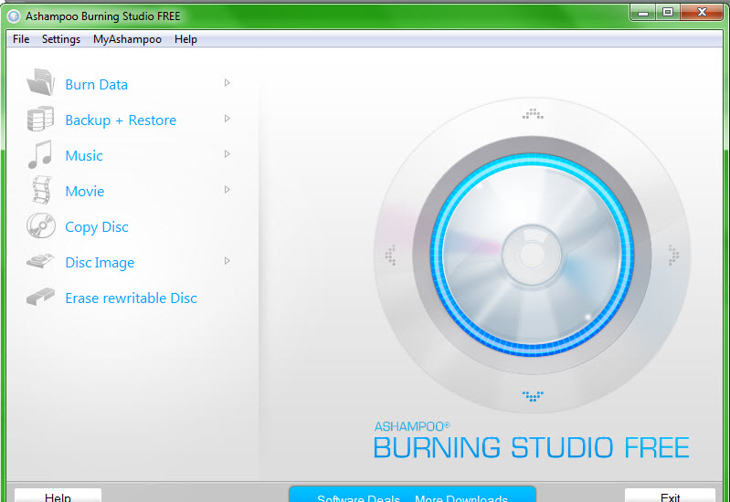 Ashampoo Burning Studio FREE 1.12