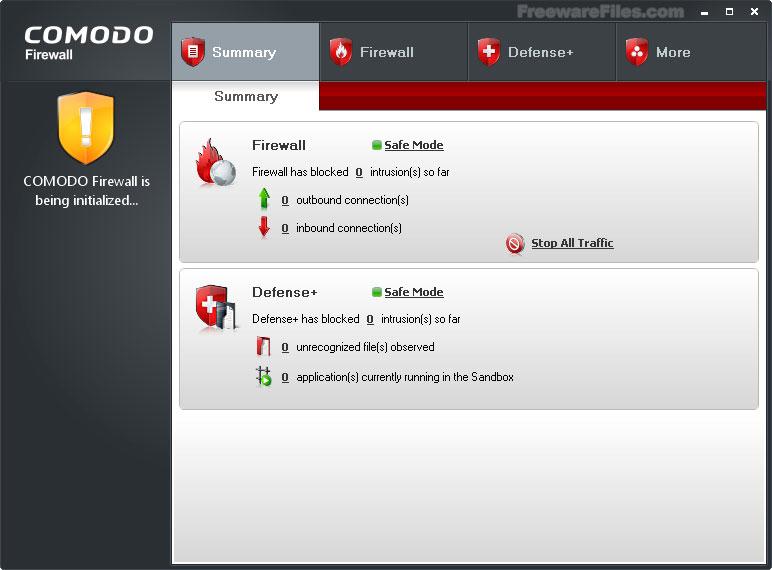 Comodo Firewall 6.3