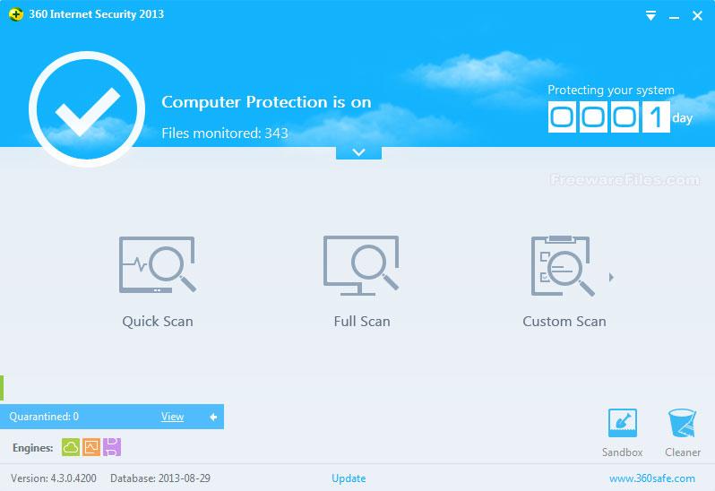 360 Internet Security 2013 4.5