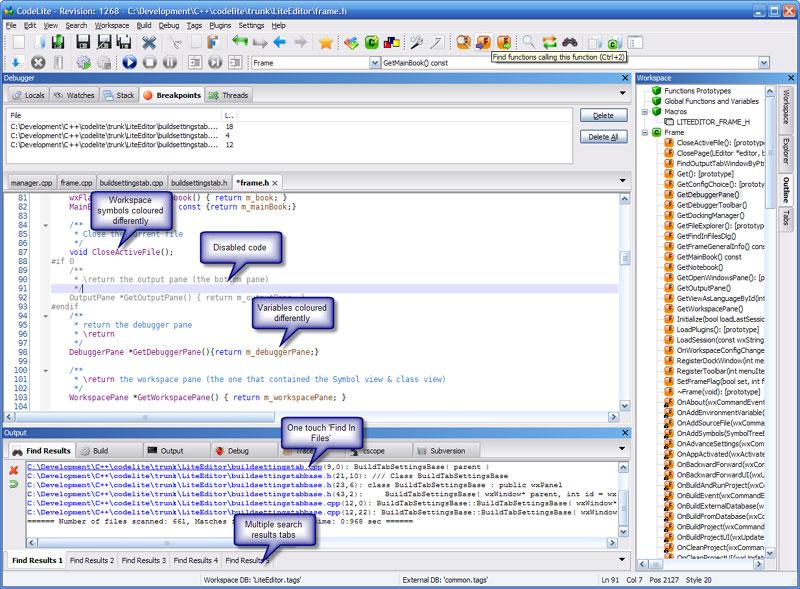 CodeLite 5.4