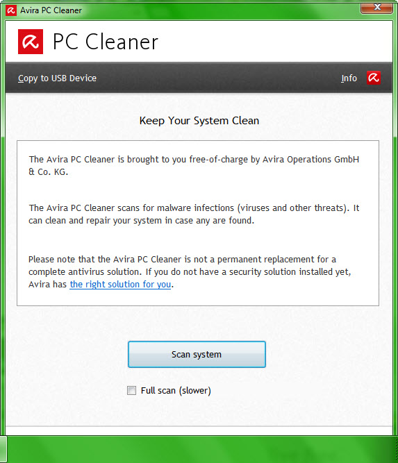 Avira PC Cleaner 13.6