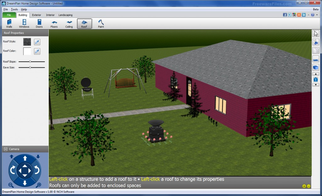 DreamPlan Home Design Software 1.05