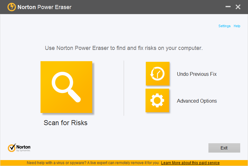 Norton Power Eraser 4.3