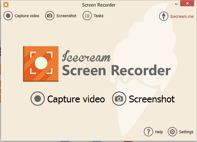 Icecream Screen Recorder 1.3