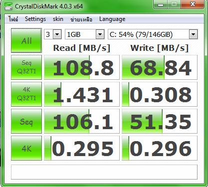 CrystalDiskMark Portable 4.0.3a