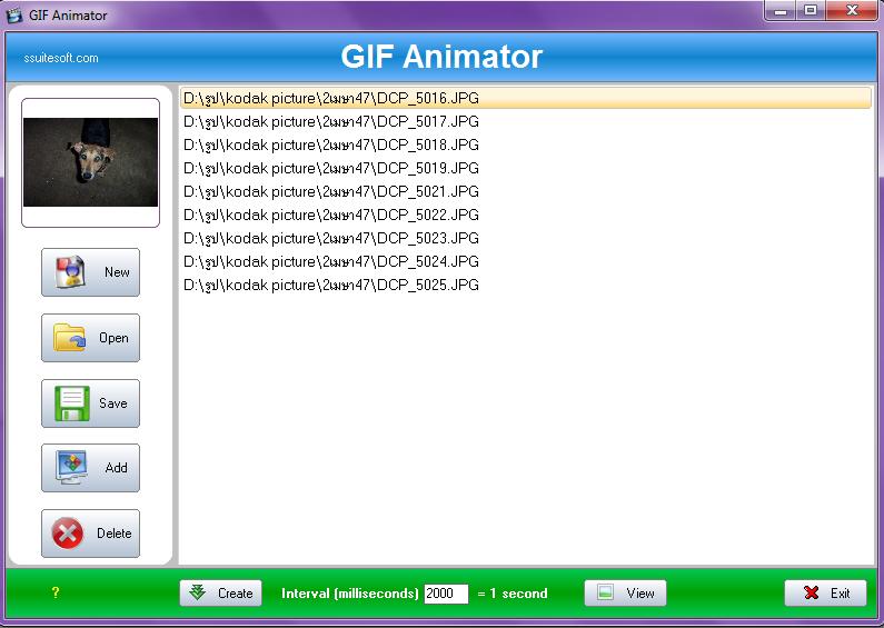SSuite Gif Animator 2.8