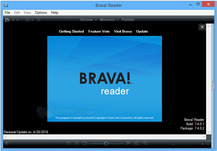 Brava! Reader 7.4