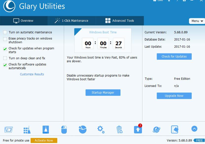 Glary Utilities 5.68
